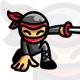 App Ninja - Ninja Mascot / Character Logo - GraphicRiver Item for Sale