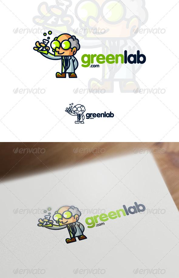 GraphicRiver Professor Scientist Mascot Logo 7112208