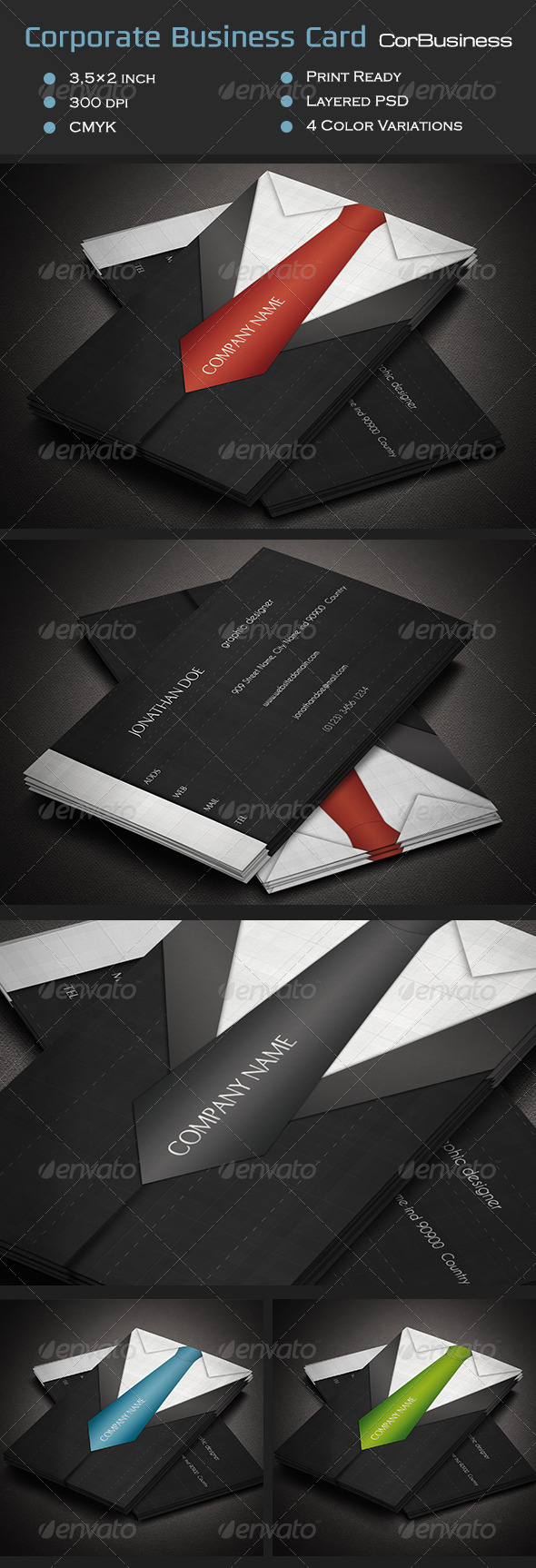 GraphicRiver Corporate Business Card CorBusiness 7112212