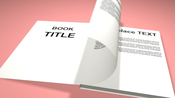 3DOcean Smooth Book Animation 7112894