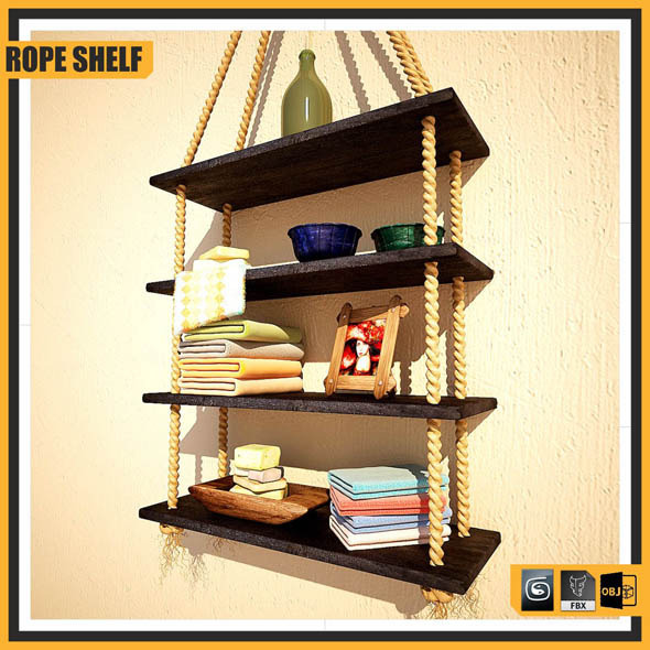 ROPE SHELF - 3DOcean Item for Sale