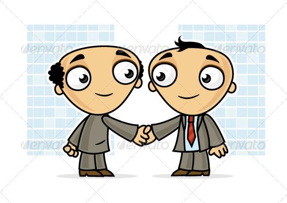 GraphicRiver Business Handshake 7113004