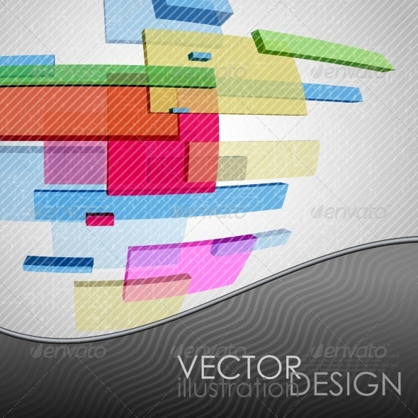GraphicRiver Abstract Rectangle Background 7113094