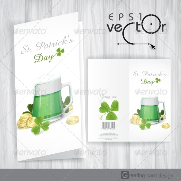GraphicRiver Mug of Green Beer for St Patrick s Day 7113190