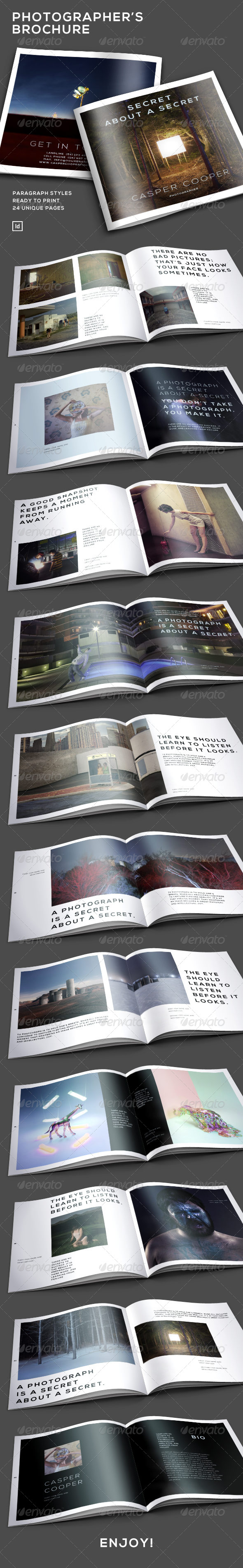 GraphicRiver Photographer s Brochure Multi Purpose 7113195