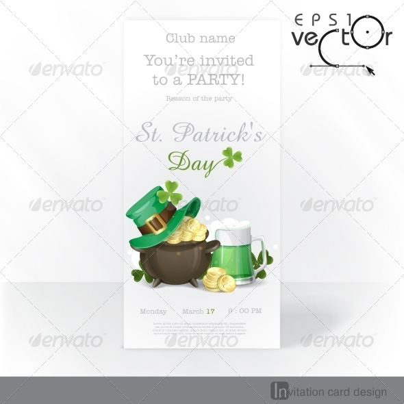 GraphicRiver St Patrick s Day Background 7113197