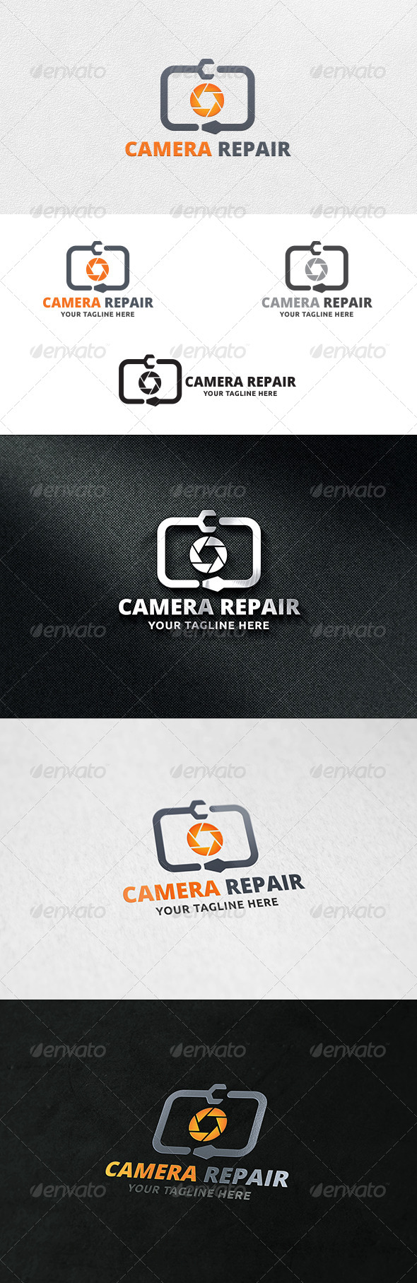 GraphicRiver Camera Repair Logo Template 7113553