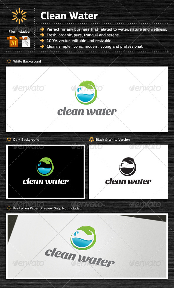 GraphicRiver Clean Water 7113668