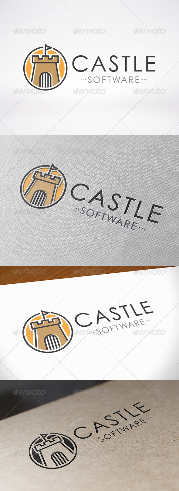 GraphicRiver Castle Logo Template 7113886