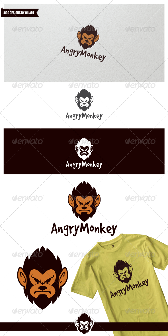 GraphicRiver Angry Monkey 7114003