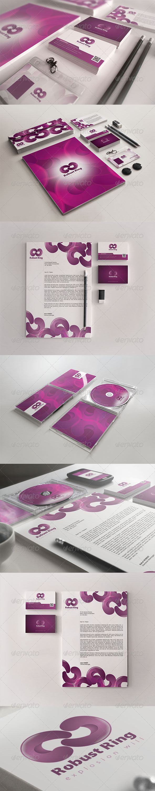 GraphicRiver Robust Ring Corporate Identity 7116631