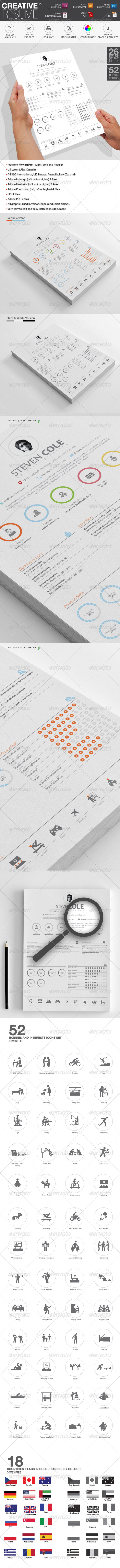 GraphicRiver Simple Resume CV 7117062