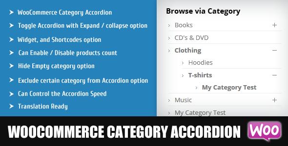 CodeCanyon WooCommerce Category Accordion 7117371
