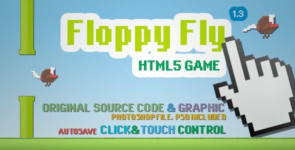 Floppy Fly - CodeCanyon Item for Sale