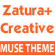 Zatura – One Page Parallax Corporate Muse Theme