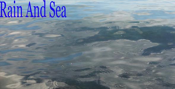 Rain And Sea