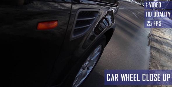 Cinematic Car Wheel