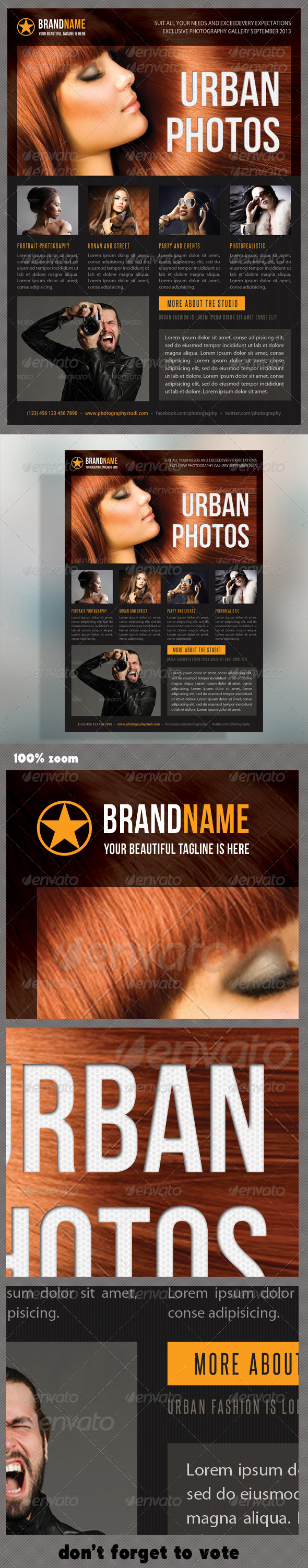 GraphicRiver Photograph Product Multipurpose Flyer 06 7119169