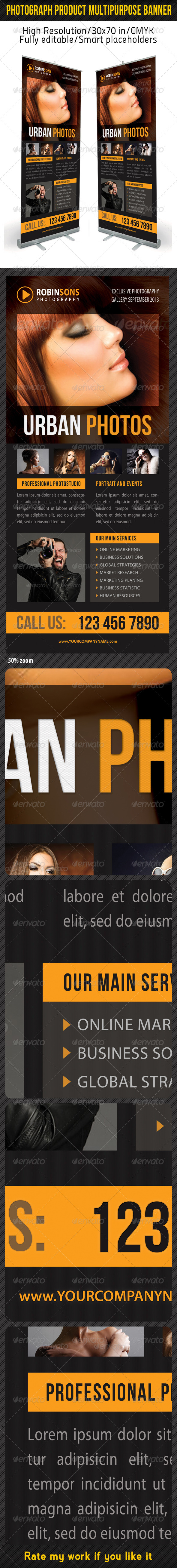 GraphicRiver Photograph Product Multipurpose Banner 09 7119264