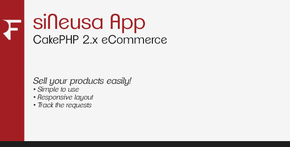 CodeCanyon siNeusa App CakePHP 2.x eCommerce 7119341