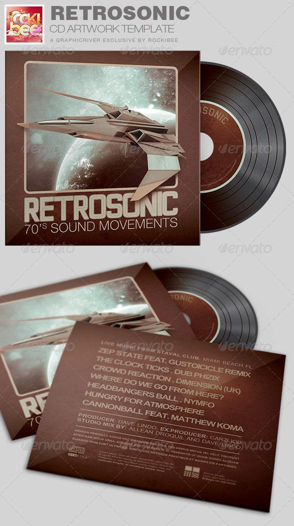 GraphicRiver RetroSonic CD Artwork Template 7119652