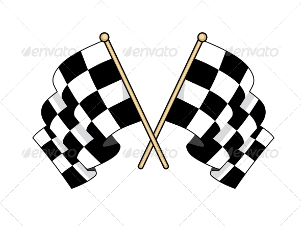 GraphicRiver Checkered Flags 7120514