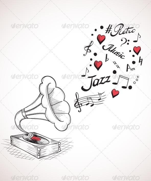 GraphicRiver Gramophone 7121075