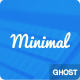 Minimal - Clean Responsive ghost theme - ThemeForest Item for Sale