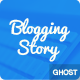 Blogging Story Responsive Ghost Theme - ThemeForest Item for Sale