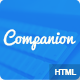 Companion Clean and responsive HTML5 template - ThemeForest Item for Sale