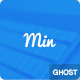 MIN - Minimal  responsive ghost theme - ThemeForest Item for Sale