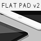 Flat iPad Mini Mockup v2 - GraphicRiver Item for Sale