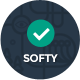 Softy - Software Promo Application Landing Page - ThemeForest Item for Sale