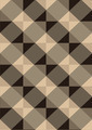 Striped Brown Rhombuses on Light Seamless Background - PhotoDune Item for Sale