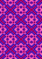Pink Rhombuses on Purple Checkered Seamless Background - PhotoDune Item for Sale
