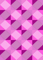 Striped Purple Rhombuses on Light Seamless Background - PhotoDune Item for Sale