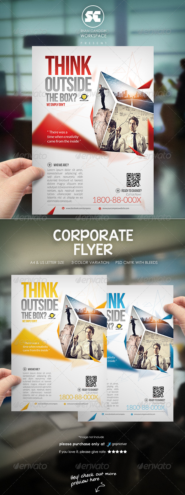 GraphicRiver Modern Corporate Flyer Magazine Ads 7102105