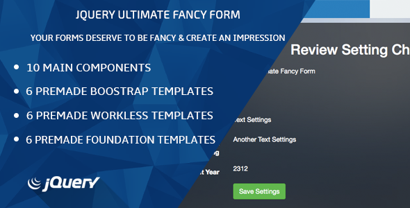 CodeCanyon jQuery Ultimate Fancy Form 7122433