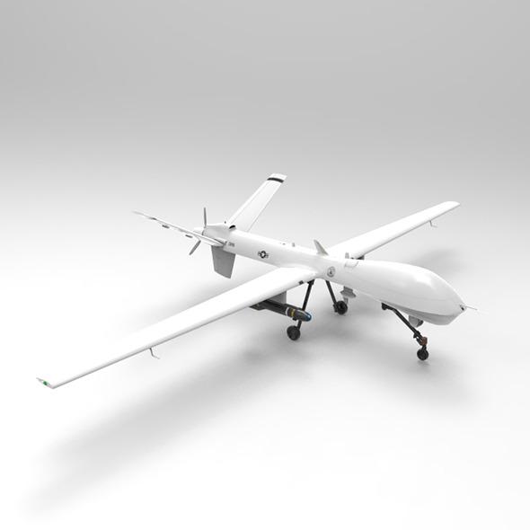 3DOcean MQ-9 Predator Drone 7122572
