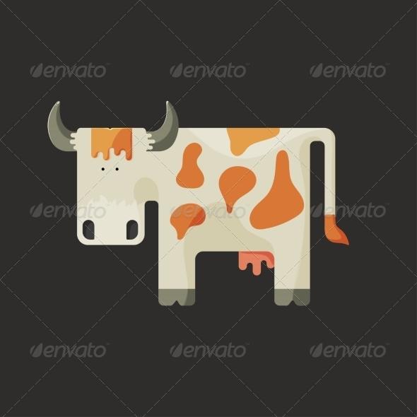 GraphicRiver Cartoon Cow 7123152