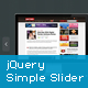 jQuery Simple Slider Plugin