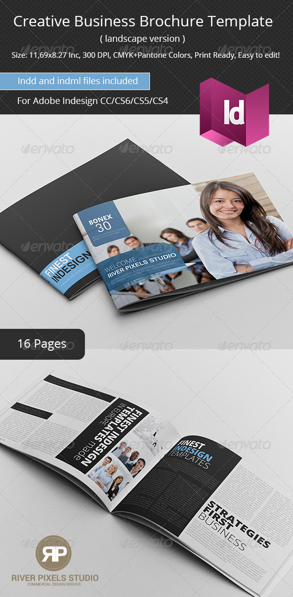 GraphicRiver Creative Business Brochure Template 7123349