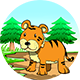 Tiger Hurdles - Game Html5