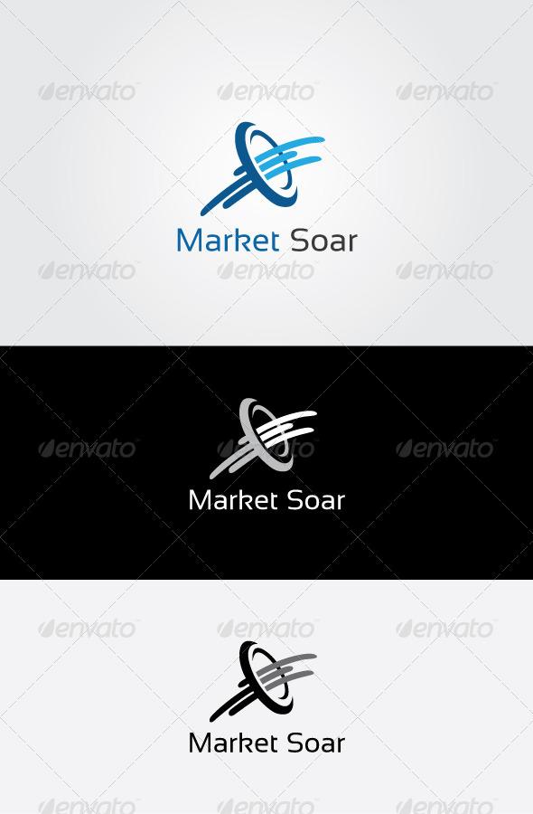 GraphicRiver Market Soar Logo 7123363