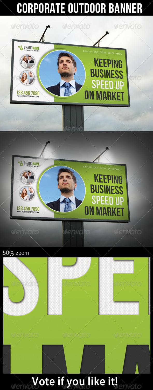 Corporate Outdoor Banner 28