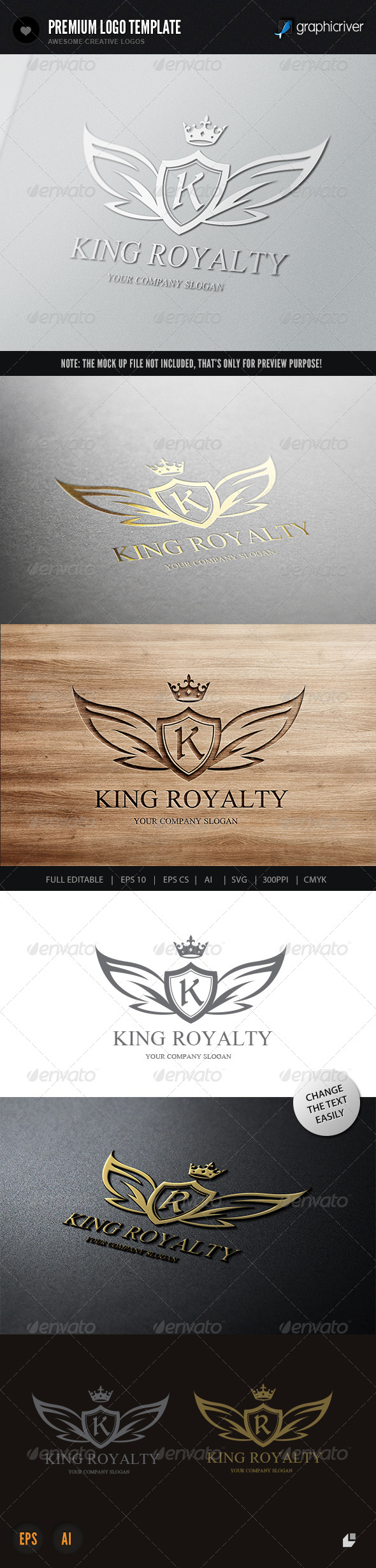 GraphicRiver King Royalty 7124166