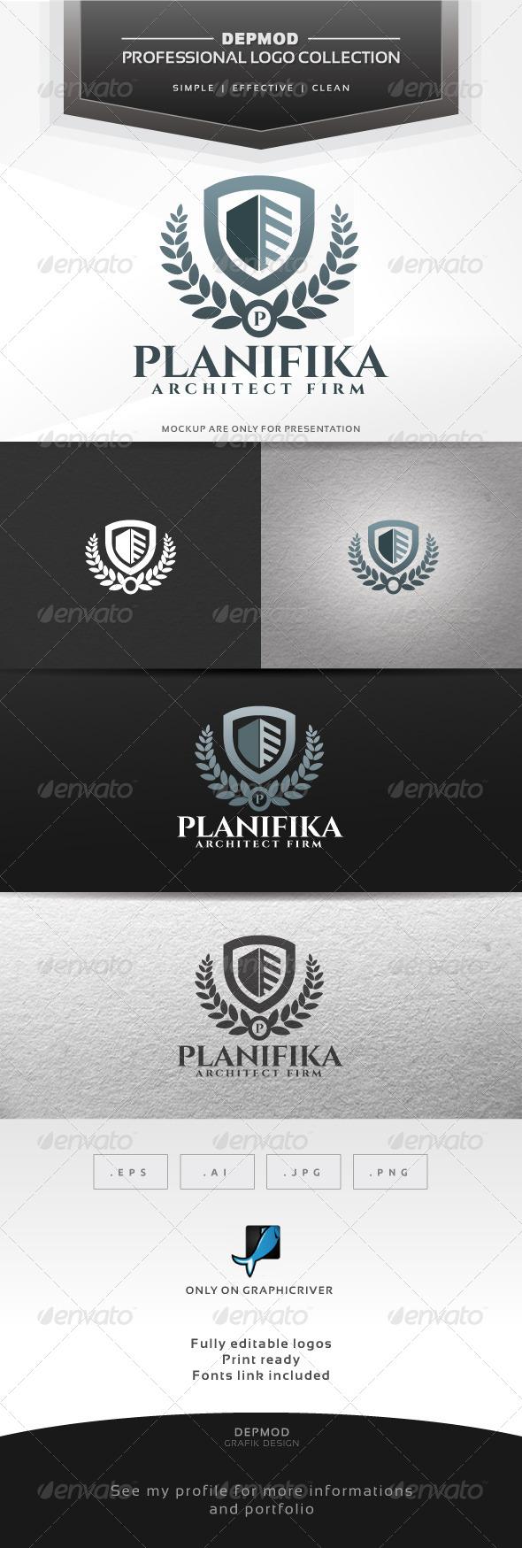 GraphicRiver Planifika Logo 7124760