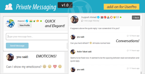 CodeCanyon Messaging add-on for UserPro 7124805