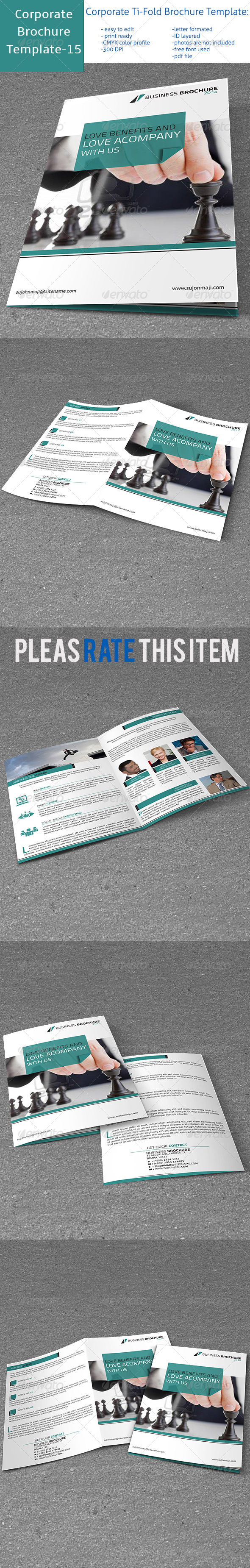 GraphicRiver Business B-fold Brochure 7124901