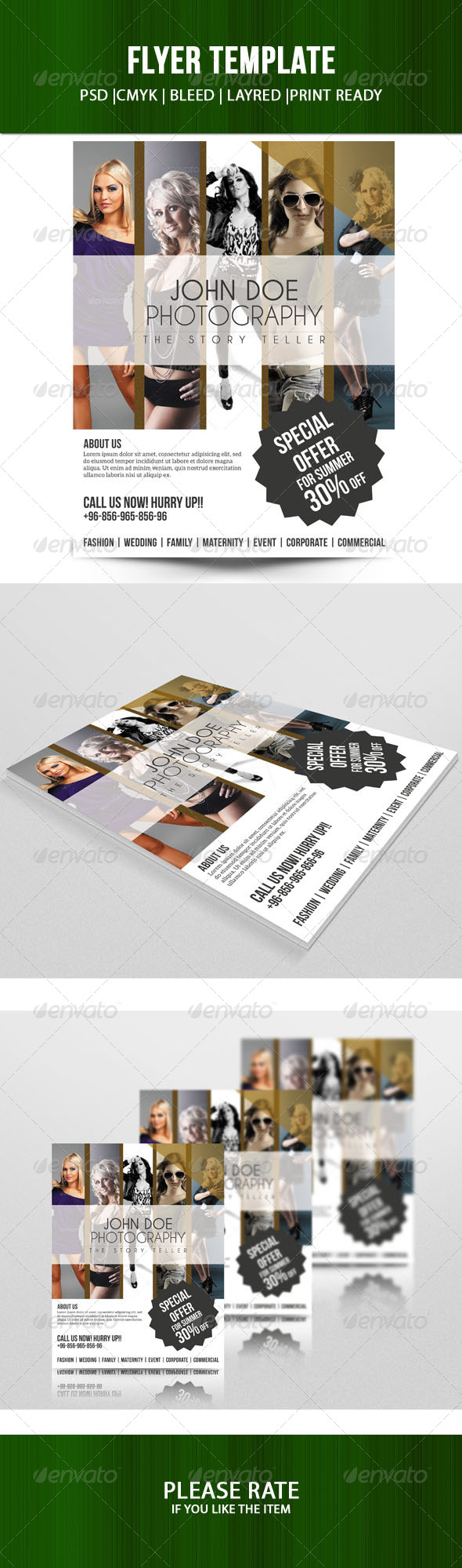 GraphicRiver Sale Offer Flyer Template 7124908